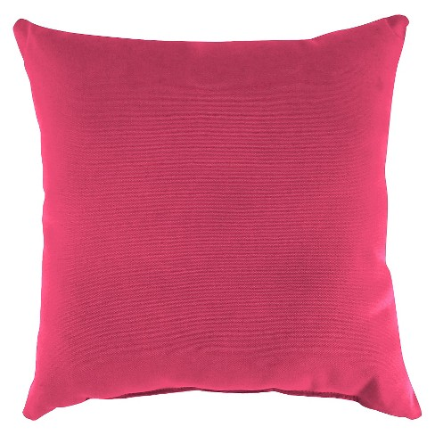 Jordan Set of Square Toss Pillows - Hot Pink - image 1 of 1