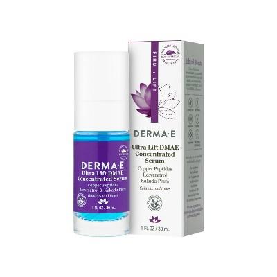DERMA E Ultra Lift DMAE Concentrated Facial Serum - 1 fl oz