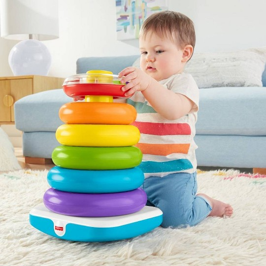 Fisher-Price Giant Rock-A-Stack image number null