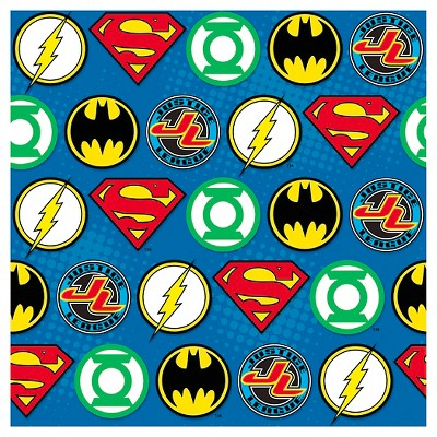 Justice League Gift Wrapping Paper