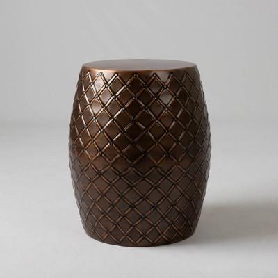 Braga Metal Stool - Copper - Balkene Home