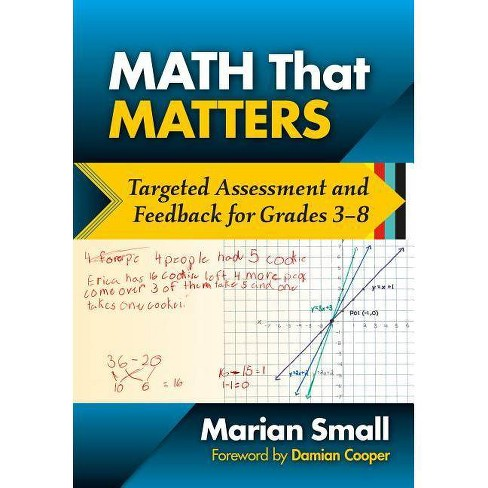 Math That Matters - by  Marian Small (Paperback) - image 1 of 1