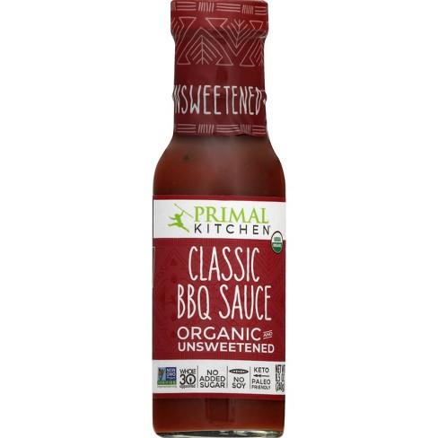 Primal Kitchen Organic and Unsweetened Classic BBQ Sauce - 8.5oz - image 1 of 4