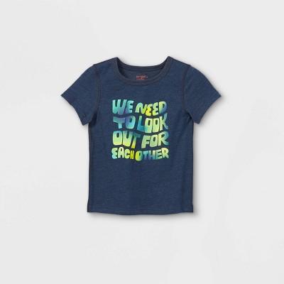 Toddler Boys' Adaptive Graphic T-Shirt - Cat & Jack™ Navy