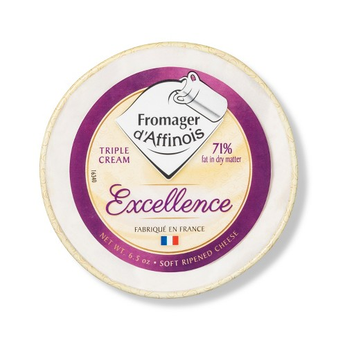 Excellence Fromager d'Affinois Triple Creme Brie - 6.5oz - image 1 of 2