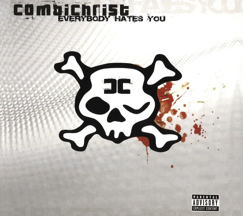 Combichrist - Everybody hates you [Explicit Lyrics] (CD) - image 1 of 1