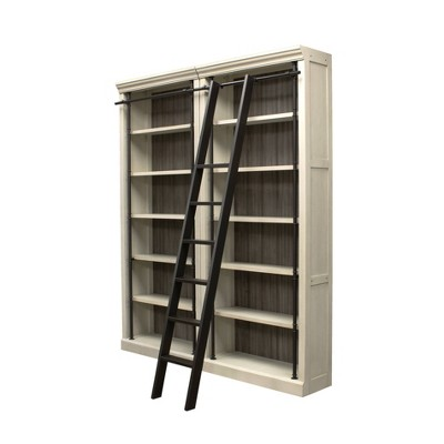 Toulouse Metal Ladder for Bookcase Black - Martin Furniture
