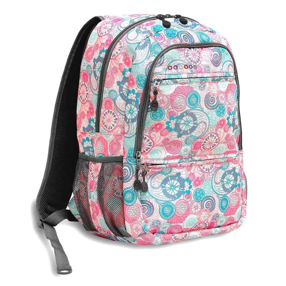 J World 18 Dexter Laptop Backpack Blue Raspberry