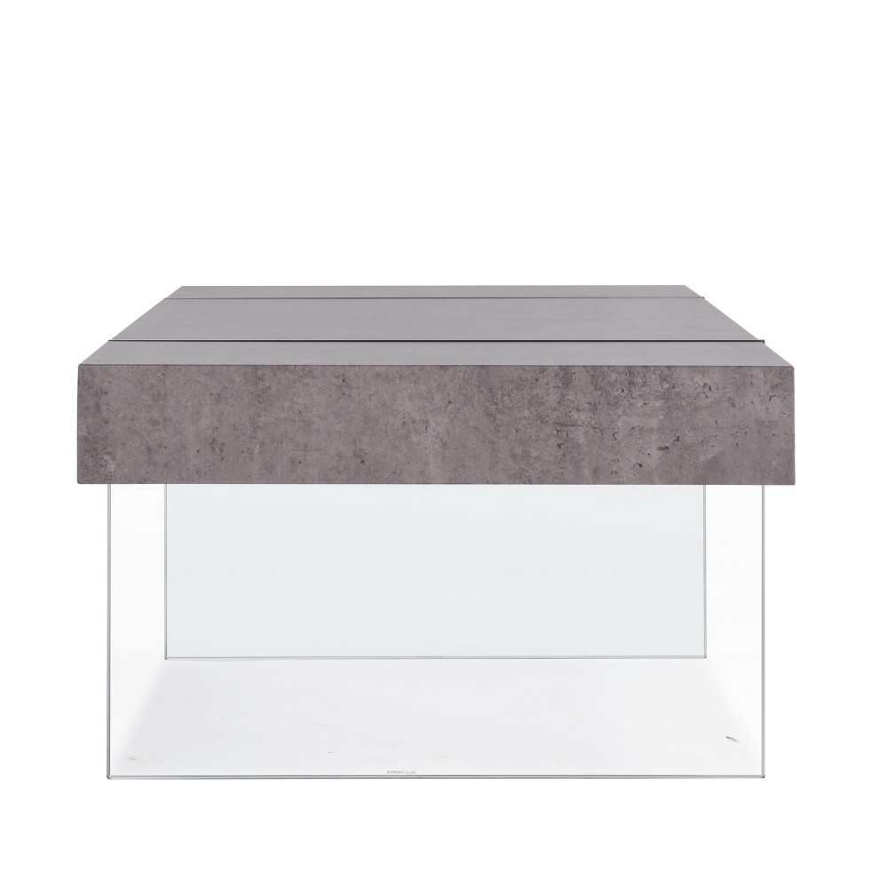 Rae Cocktail Table - Gray - Handy Living