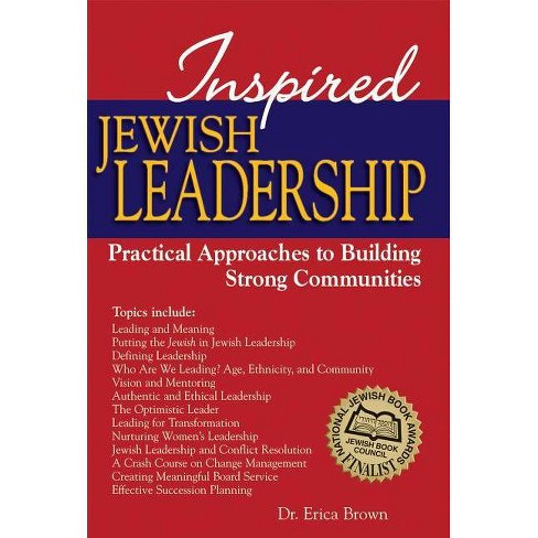 Inspired Jewish Leadership - by  Erica Brown (Hardcover) - image 1 of 1