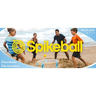 Spikeball 3 Ball Roundnet Sports set - Blue