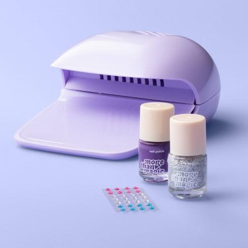 Manicure Set 2 Polish + Novelty Nail Dryer - More Than Magic™ - image 1 of 2