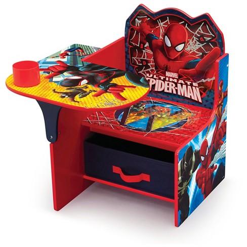 Delta Children 174 Marvel Spider Man Chair Desk With Storage
