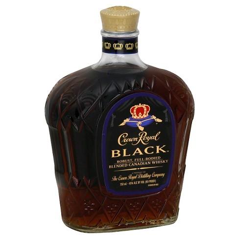 Crown Royal Black Canadian Whisky - 750ml Bottle - image 1 of 1