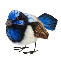 "Hansa 3 "" Wren-Blue, Stuffed Animals"