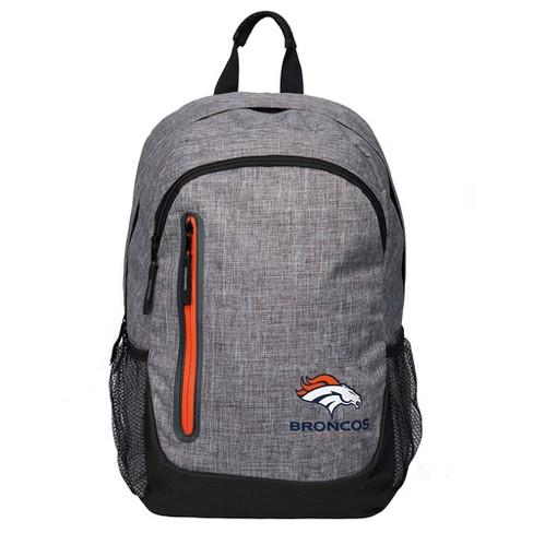NFL Denver Broncos Forever Collectibles - Heather Grey Bold Color Backpack - image 1 of 3
