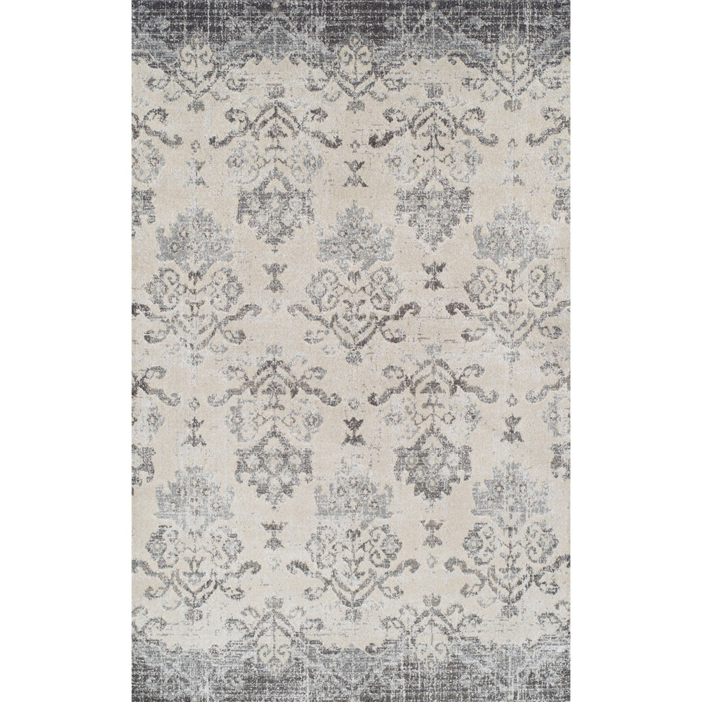 "Image of ""3'3""""X5'3"""" Light Brown Solid Woven Accent Rug - Addison Rugs, Silver Beige"""