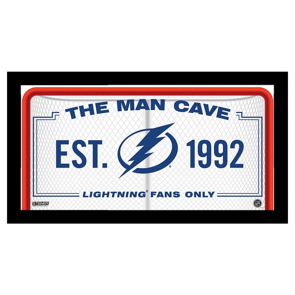 Tampa Bay Lightning Steiner Sports Man Cave Sign - 10