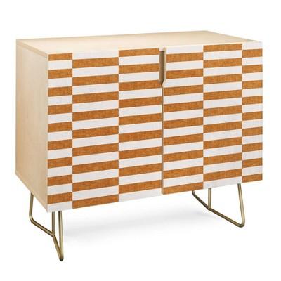 Little Arrow Design Co Aria Rectangle Tiles Credenza - Deny Designs