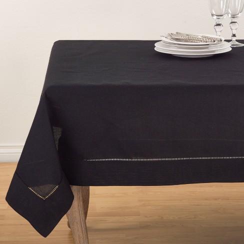 Tablecloth Black Saro Lifestyle - image 1 of 2