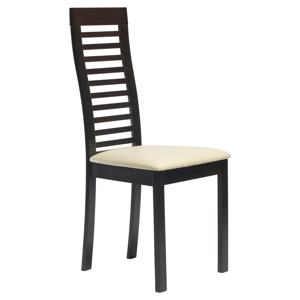 Aeon Denver Solid Beechwood Dining Chair - Coffee (Brown) (Set of 2)
