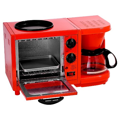 Americana by Elite Multi-function Toaster Oven - Red