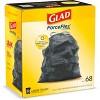 Glad ForceFlex + Large Drawstring Black Trash Bags - 30 Gallon - 68ct - image 3 of 4