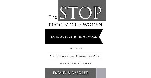 STOP Program for Women : Handouts and Homework (Paperback) (David B. Wexler) - image 1 of 1