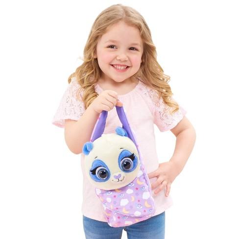 Disney Jr T.O.T.S Precious The Panda Kid Toy Gift Cuddle and Wrap Plush