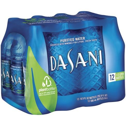 Dasani Purified Water - 12pk/16.9 fl oz Bottles - image 1 of 3