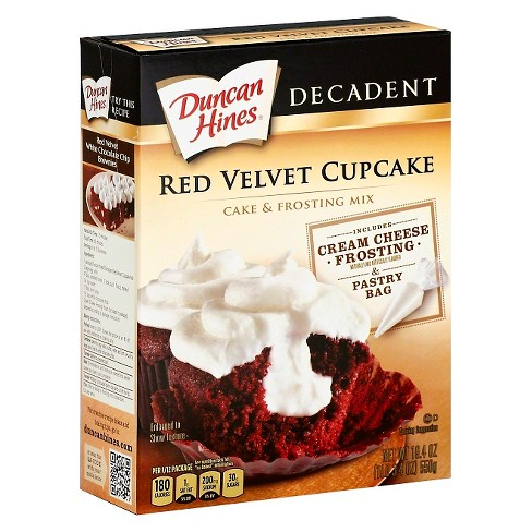 Duncan Hines Red Velvet Cupcake Cake & Frosting Mix 19.4 oz - image 1 of 1