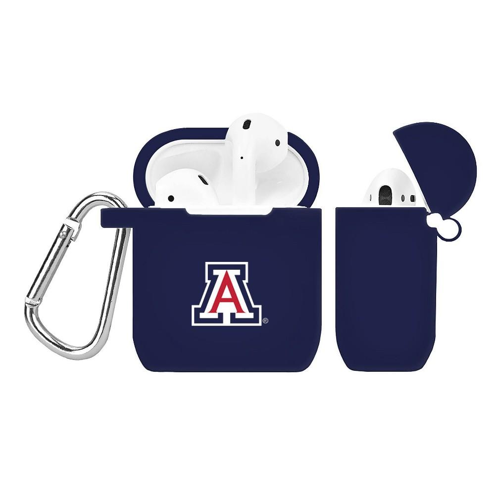 NCAA Arizona Wildcats Silicone Case Cover for Apple AirPod Case, Multicolored NCAA Arizona Wildcats Silicone Case Cover for Apple AirPod Case Color: Multicolored.