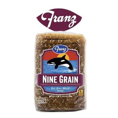 Franz San Juan Island Nine Grain Sandwich Bread -26oz