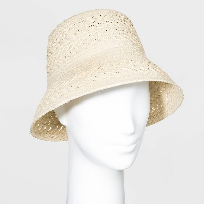 Women's Bucket Hats - A New Day™ Natural One Size