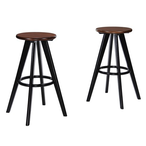 Judd Wood Barstool (Set of 2) - Christopher Knight Home - image 1 of 4