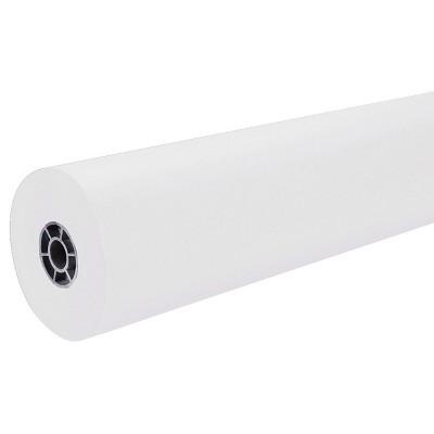 """Pacon 36"""" x 500' ArtKraft Duo-Finish Paper Roll - White"""