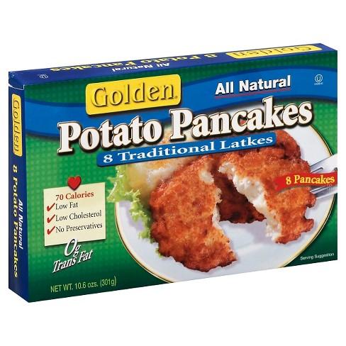 Golden Frozen Potato Pancakes - 10.6oz - image 1 of 1