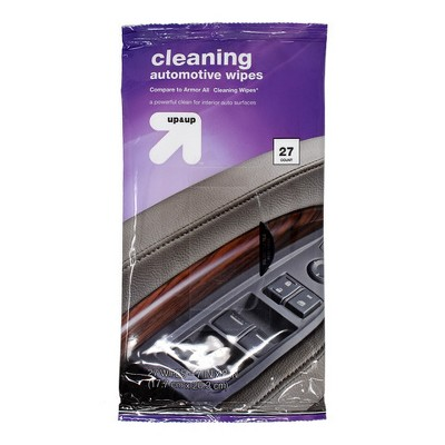 Cleaning Automotive Wipes Pouch 27ct - Up&Up™