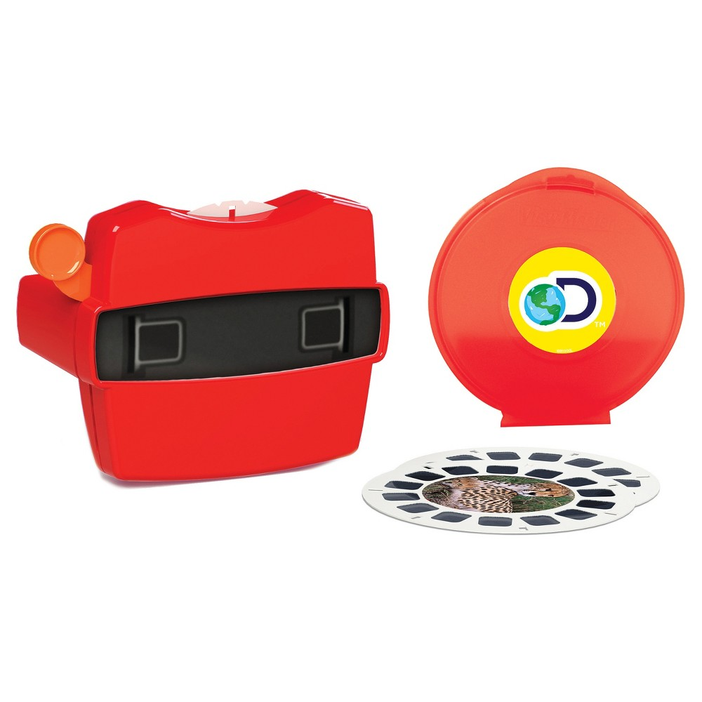 Schylling Vie Master Boxed Set The ViewMaster is back! Take a trip through Africa, swim with the fish or experience prehistoric life with each ViewMaster reel. This boxes set features 21 3D images and a reel storage case. Gender: Unisex.