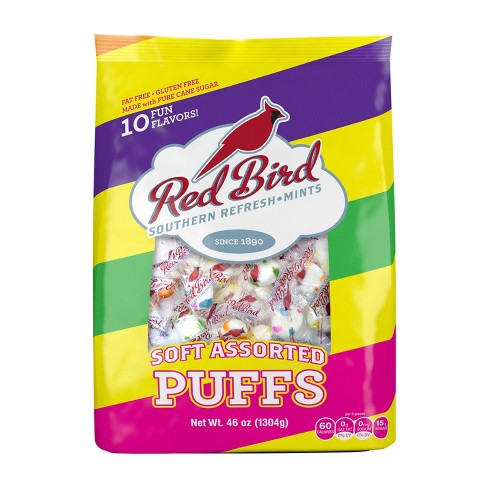 Red Bird Assorted Candy Puffs Mint Candies - 48oz - image 1 of 2