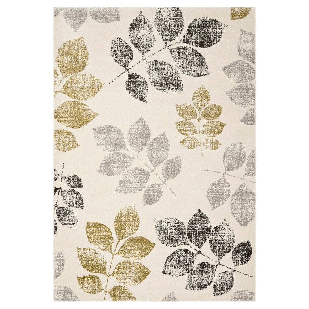 Botanical Area Rug - Ivory/Green (6'7