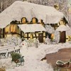"""Christmas 15.0"""" Winter Cottage In The Woods Advent Calendar  -  Advent Calendar - image 3 of 3"""
