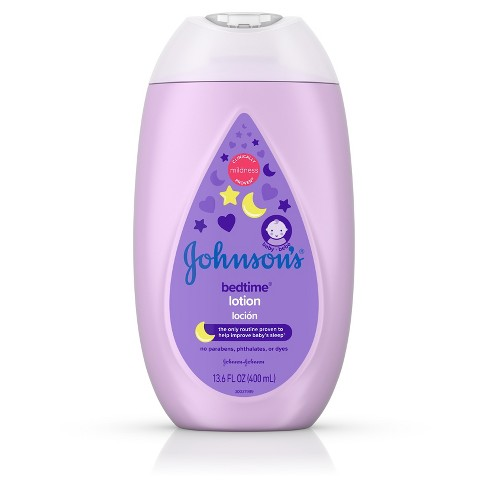 Johnson's Bedtime Lotion - 13.6oz - image 1 of 4