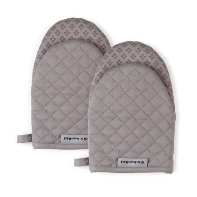 "KitchenAid 2pk 5.5""X8"" Asteroid Mini Mitts Gray"