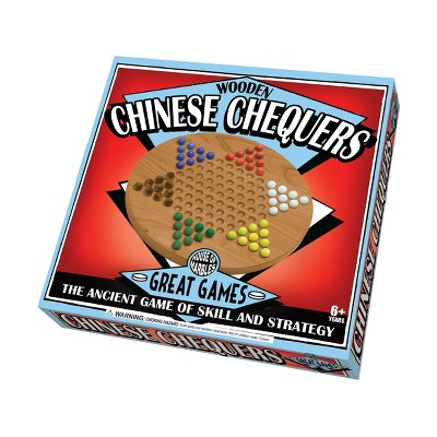 House of Marbles Wooden Chinese Chequers Game