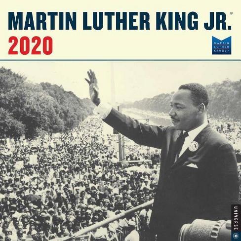 Martin Luther King 2020 Calendar Martin Luther King, Jr. 2020 Wall Calendar : Target