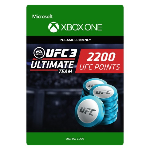 UFC 3: Ultimate Team 2200 UFC Points - Xbox One (Digital) - image 1 of 1