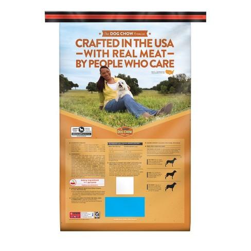 Purina Dog Chow Small Dog Grain & Real Meat Dry Dog Food - 16 5lbs