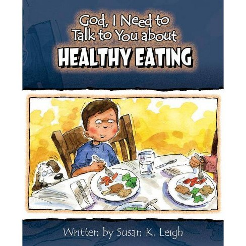 God I Need to Talk to You about Healthy Eating 6pk - by  Susan K Leigh (Dumpbin,  Filled) - image 1 of 1