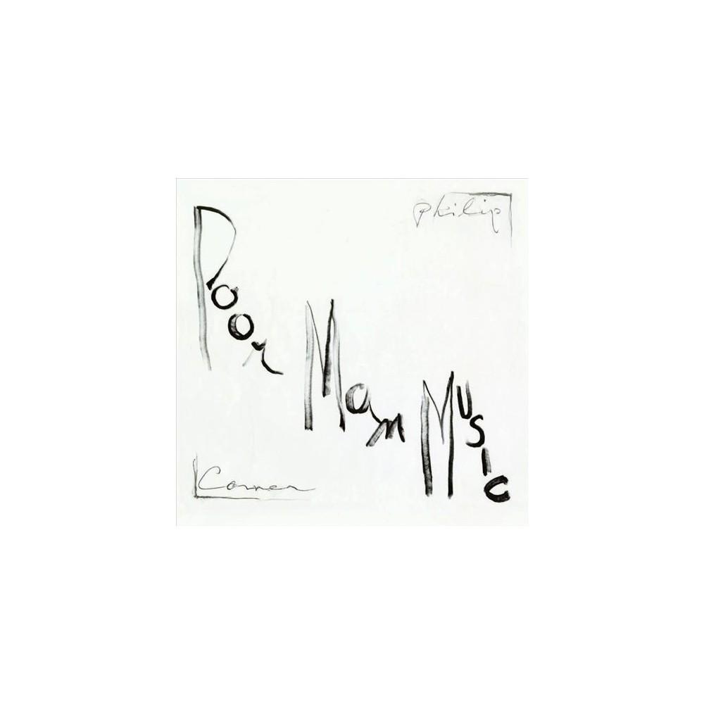 Philip Corner - Poormanmusic (Vinyl)